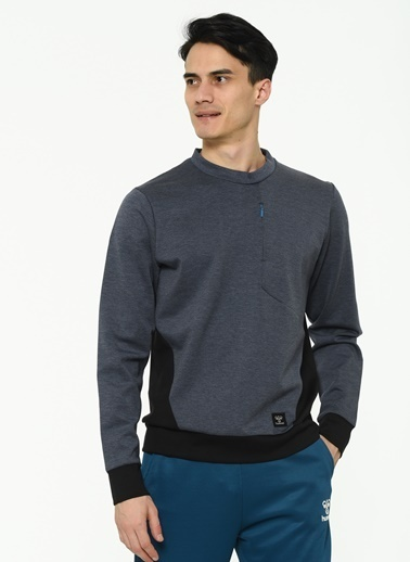 Hummel Erkek Browst Sweatshirt 206272-2995 Siyah